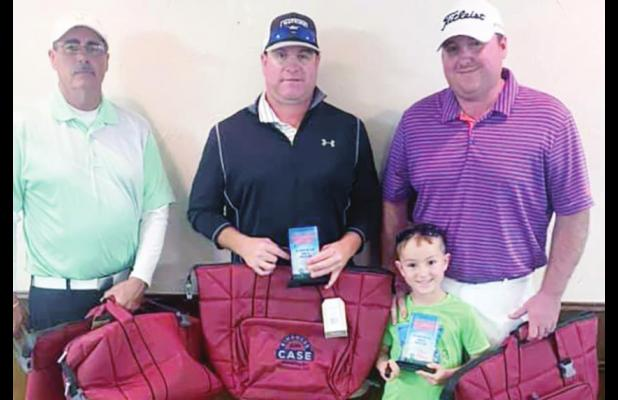 Scores low, funds raised at Kindness from Case tournament
