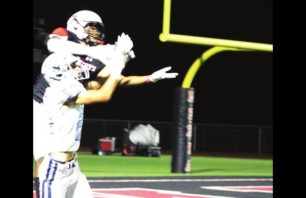 No. 5 is alive ... China Spring races past Mexia 56-7
