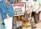 Shaggy Chic shows Civic Pride